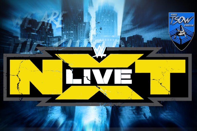 NXT: Tornano i Live Event a Luglio