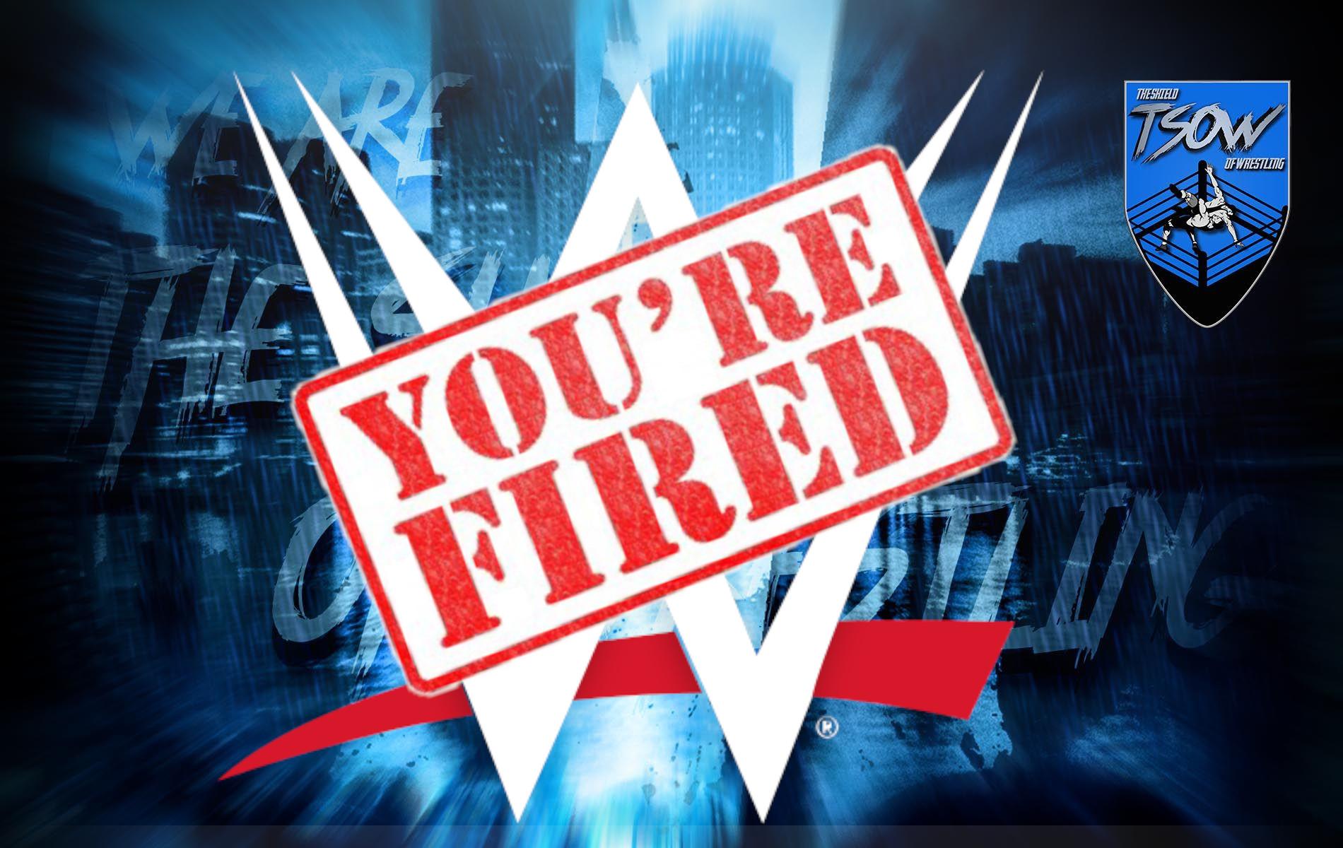 Licenziamenti WWE: presto arriverà un'altra ondata