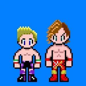 Francesco Akira e Kento Miyahara in versione cartone animato
