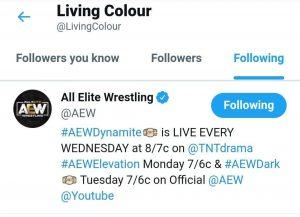 CM Punk: i Living Colour seguono la AEW su Twitter