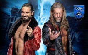 Edge e Seth Rollins: maxi rissa nel finale di MITB