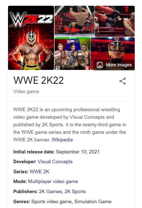 WWE 2K22: svelata la data di uscita?