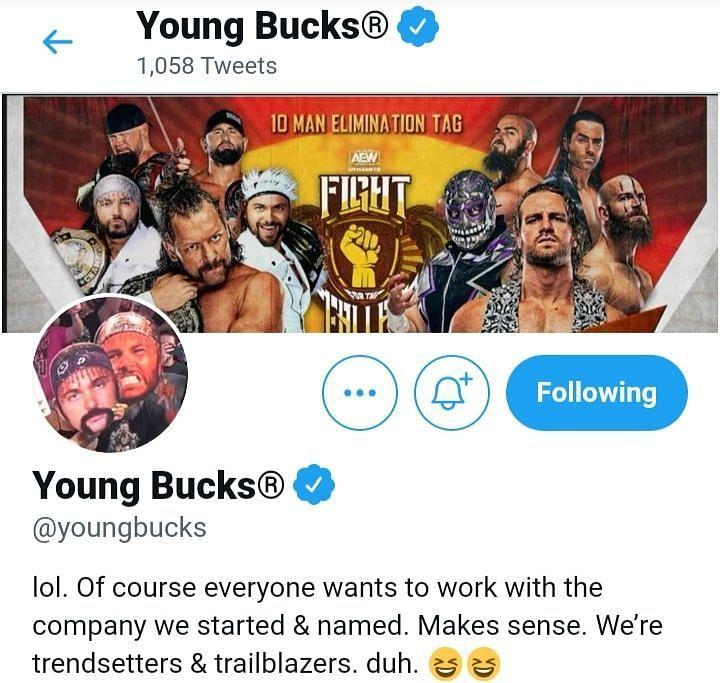Young Bucks: tutti vogliono lavorare per noi