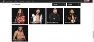 205 Live: il roster conta soltanto due Superstar attive
