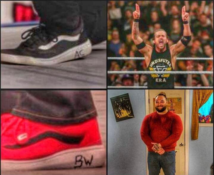 CM Punk: indizi sulle scarpe per Adam Cole e Bray Wyatt