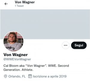 Cal Bloom: cambio di ring name per l'atleta di NXT